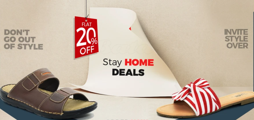 Bata - Stay Home Sale
