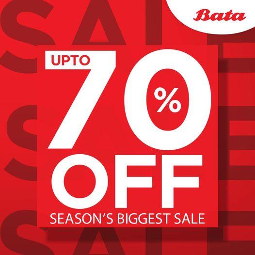 Bata - Season Biggest Sale