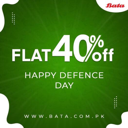 Bata - Defence Day Sale
