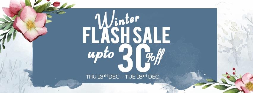 Winter Flash Sale 18'