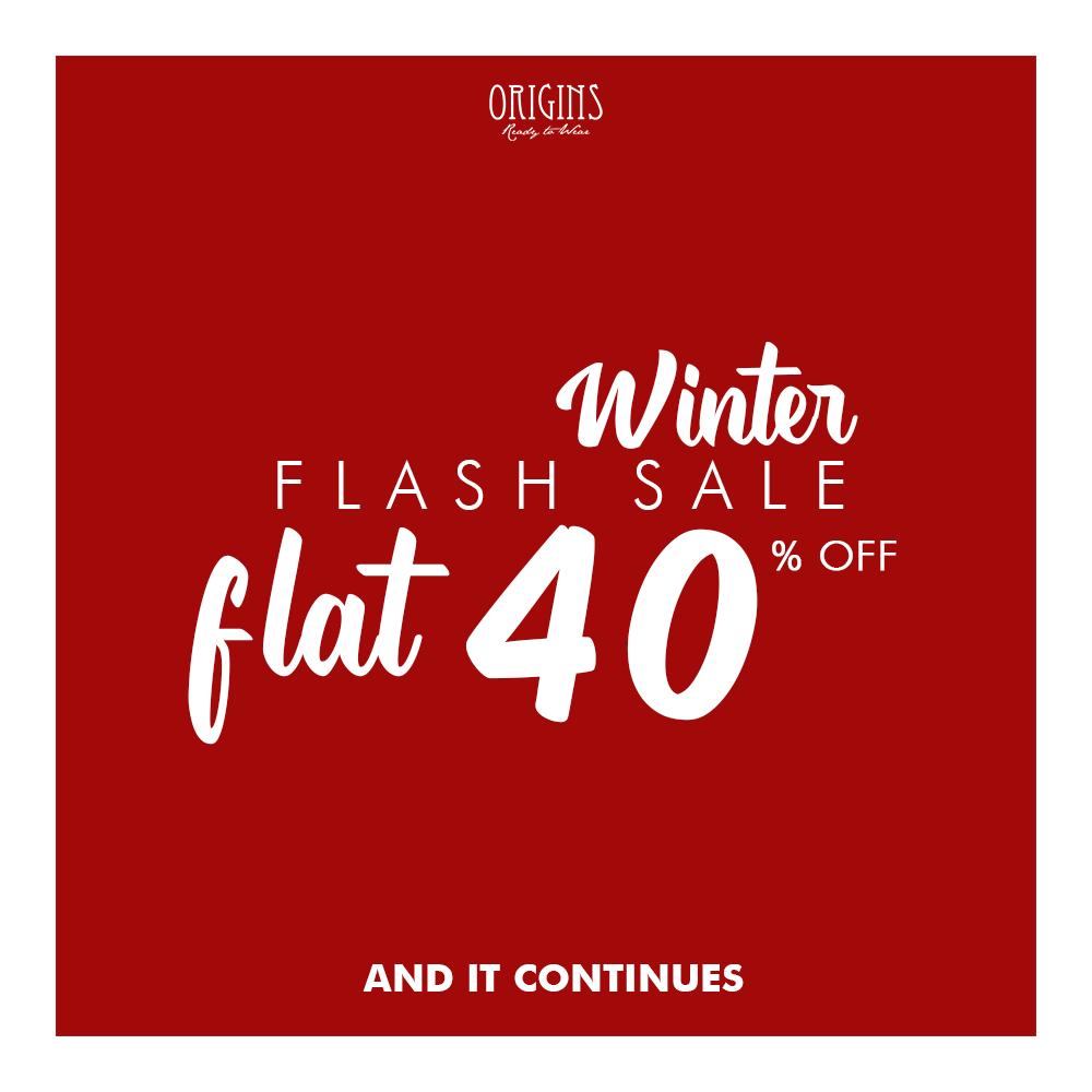 Origins - Winter Flash Sale