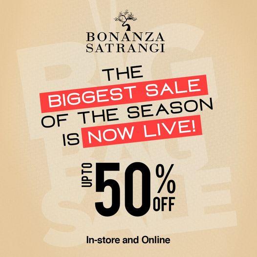 Bonanza Satrangi - Biggest Sale