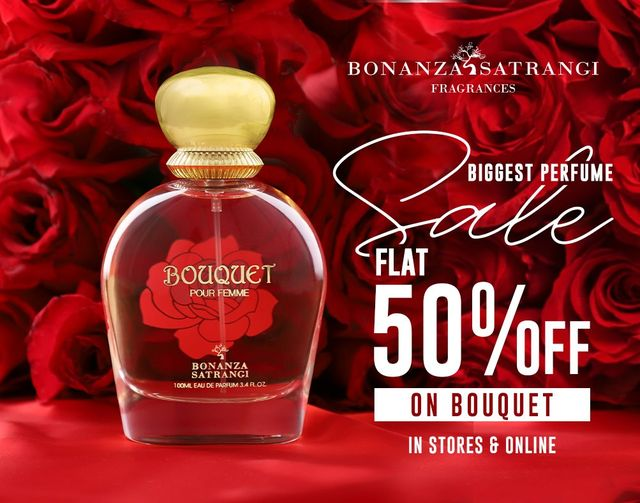 Bonanza Satrangi - Biggest Perfume Sale