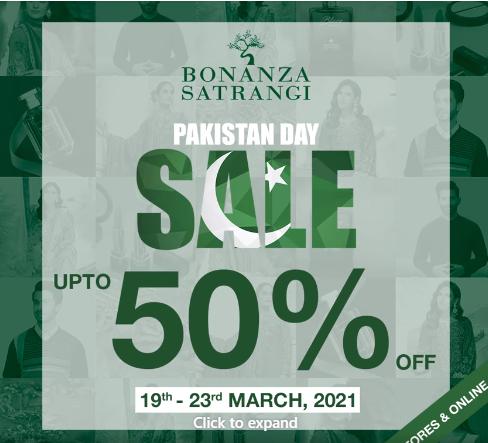 Bonanza.satrangi - Pakistan Day Sale