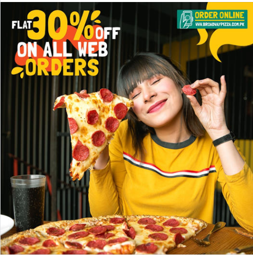 Broadway Pizza - Pizza Sale
