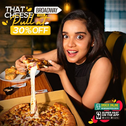 Broadway Pizza - Pizza Deal