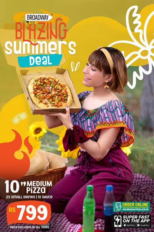 Broadway Pizza - Summer Deal