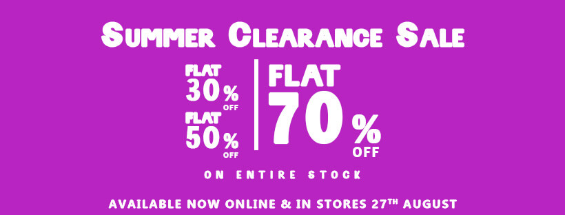 Btw - By The Way - Summer Clearance Sale
