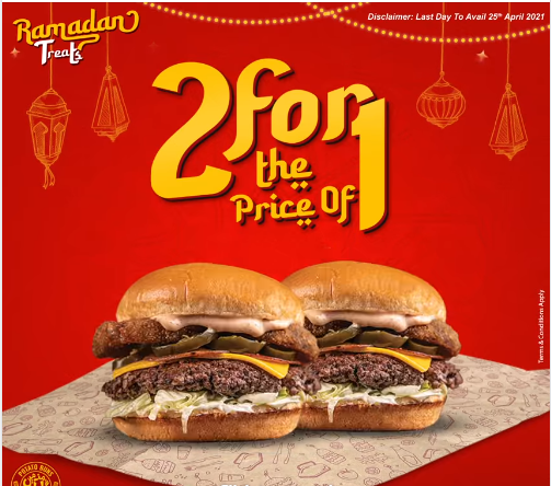 Burger Lab - Ramzan Deal