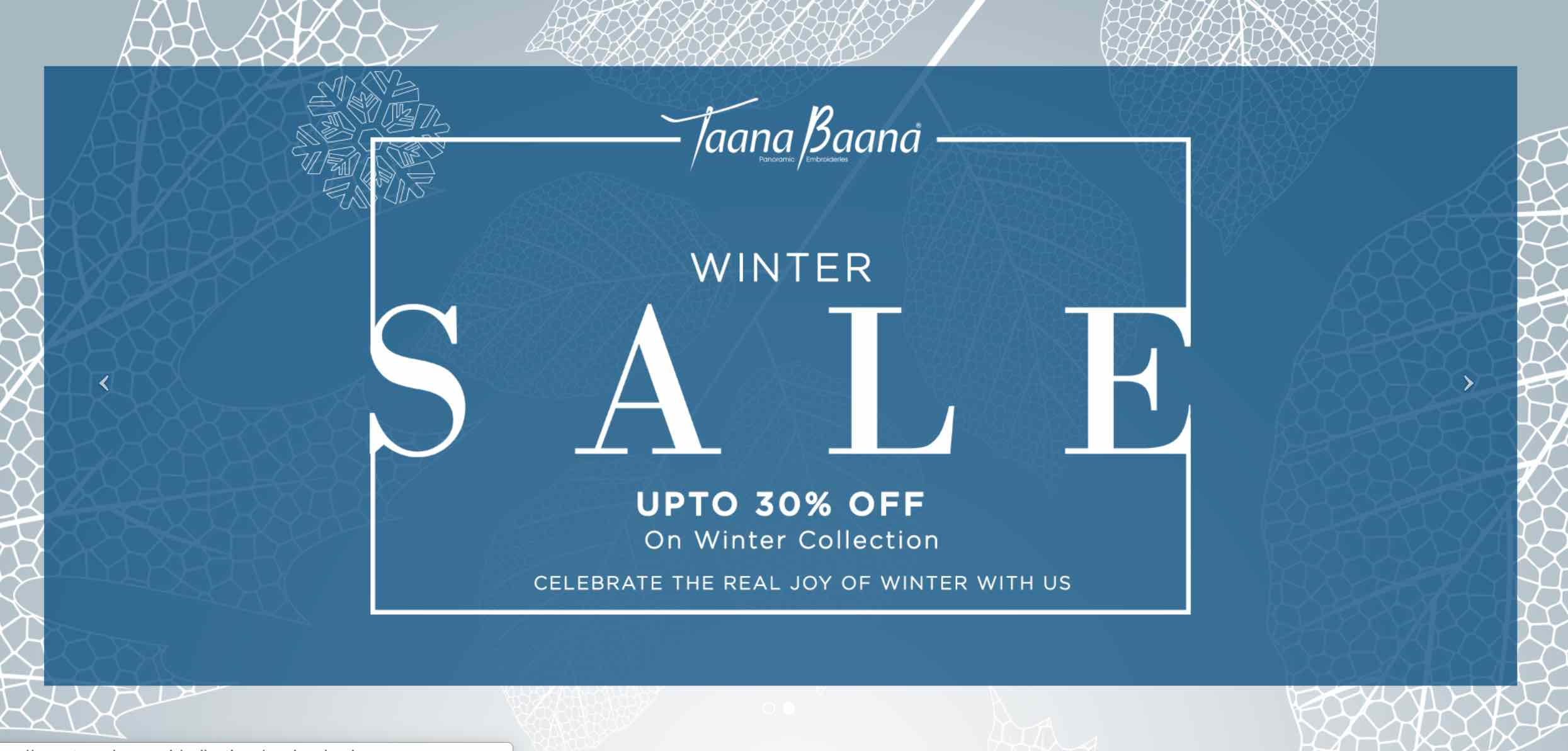 Taanabaana - Winter Sale