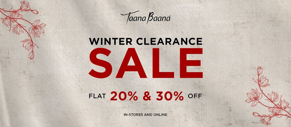 Taanabaana - Winter Clearance Sale