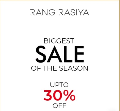 Rang Rasiya - Biggest Sale Of The Season