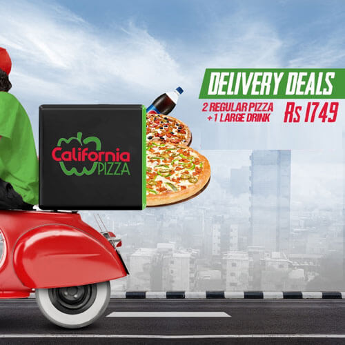 California Pizza - Delivery Deal