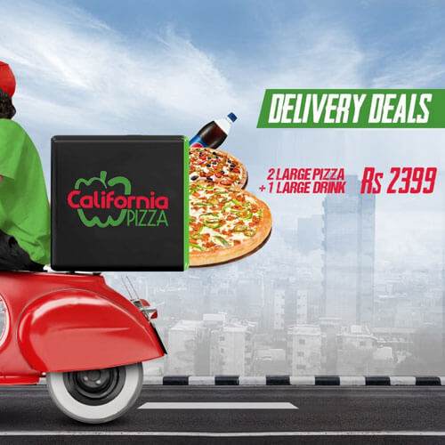 California Pizza - Delivery Deal 2