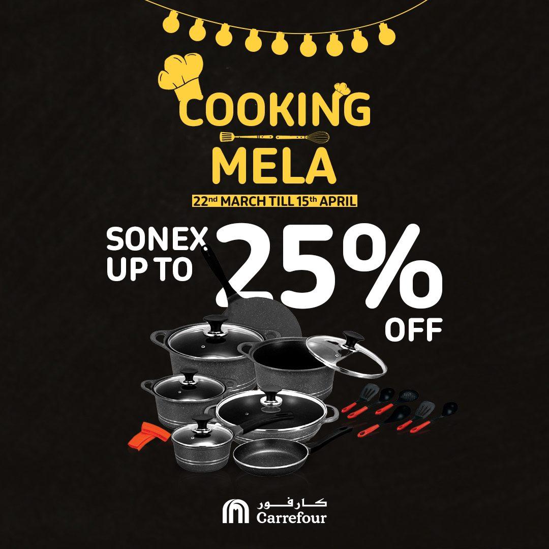 Carrefour Pakistan - Cooking Mela Sale