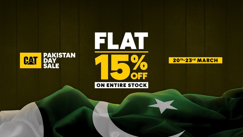 Cat - Pakistan Day Sale