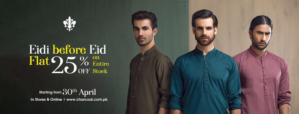 Charcoal - Eid Sale