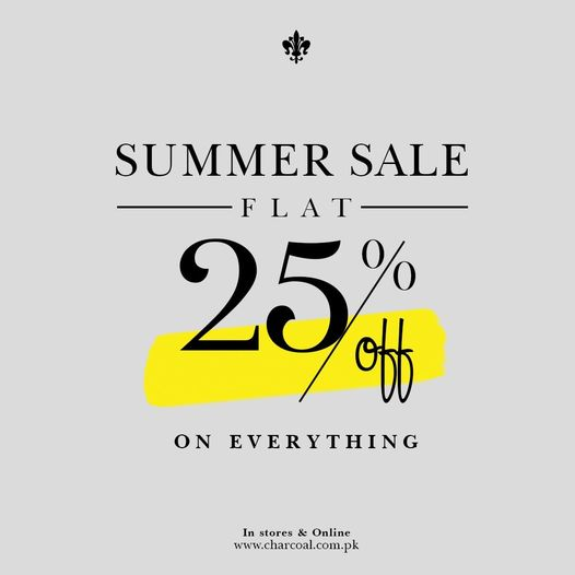Charcoal - Summer Sale