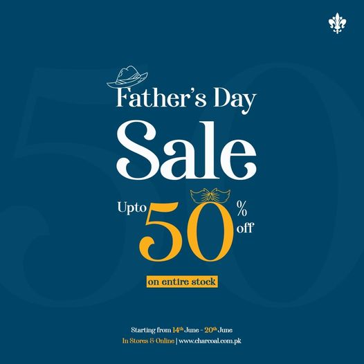 Charcoal - Father's Day Sale