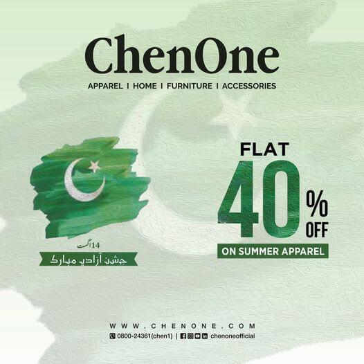Chenone - Independence Day Sale