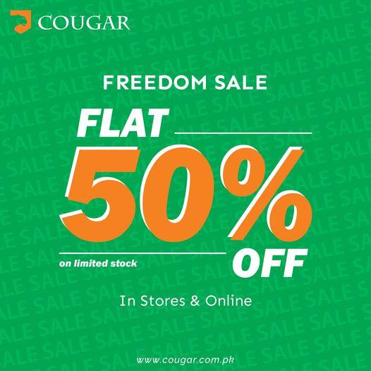 Cougar - Freedom Sale