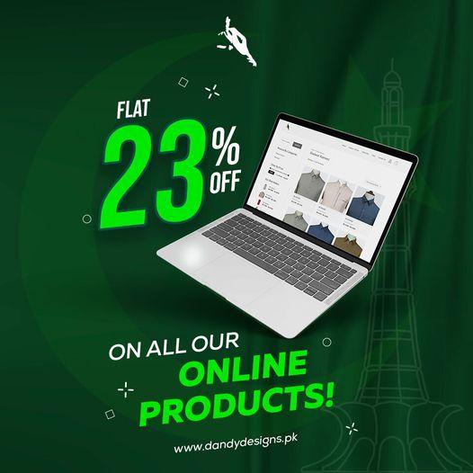 Dandy Designs - Pakistan Day Sale
