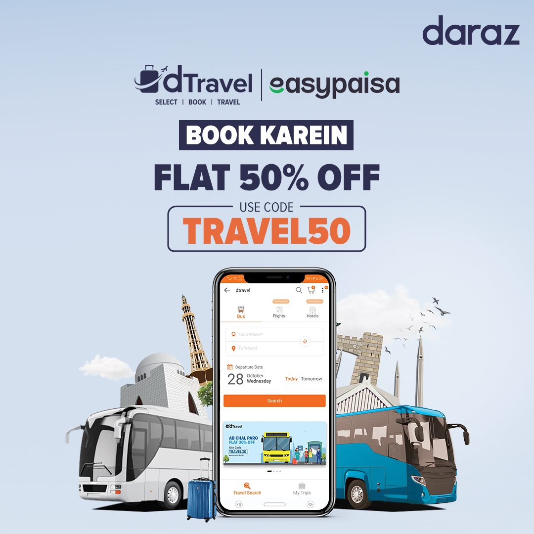 Daraz - Book Karein