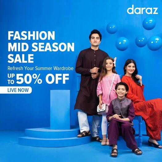 Daraz - Mid Season Sale