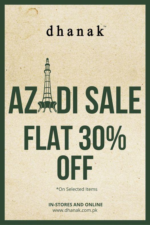 Dhanak - Azadi Sale