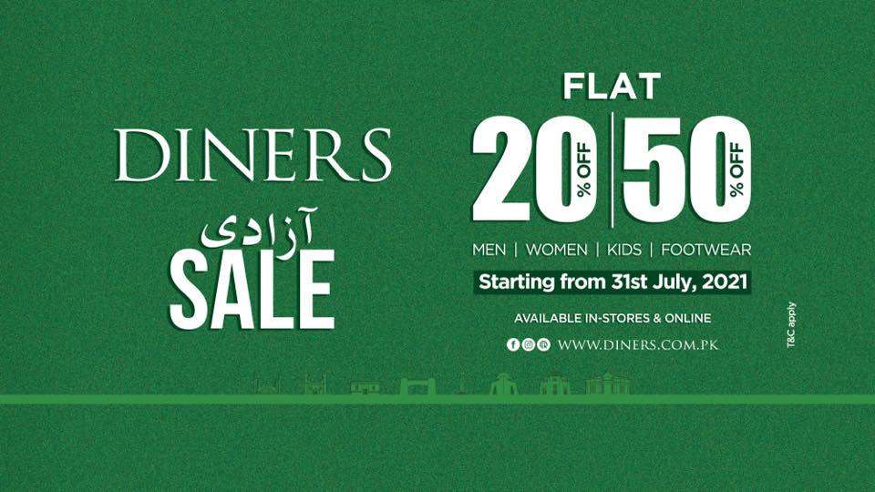 Diners - Independence Day Sale
