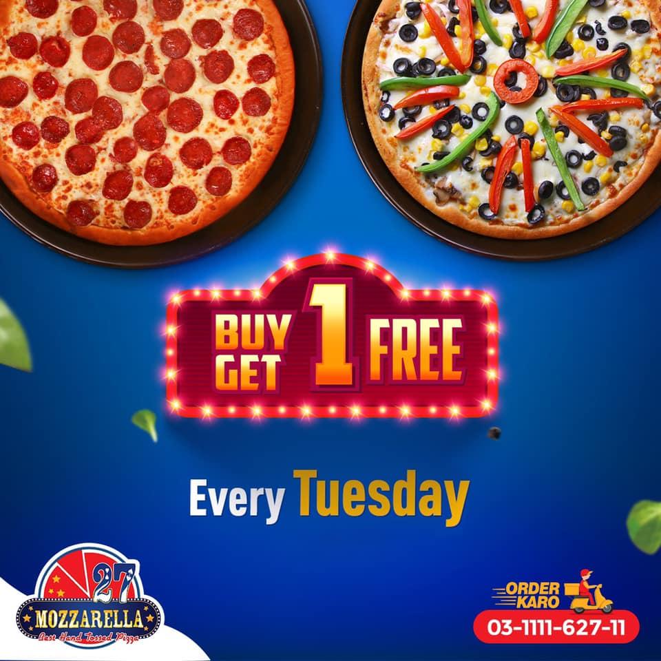 Mozzarella 27 - Buy 1 Get 1 Free Sale