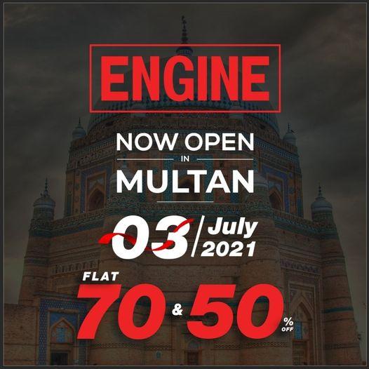 Engine - Opening Sale