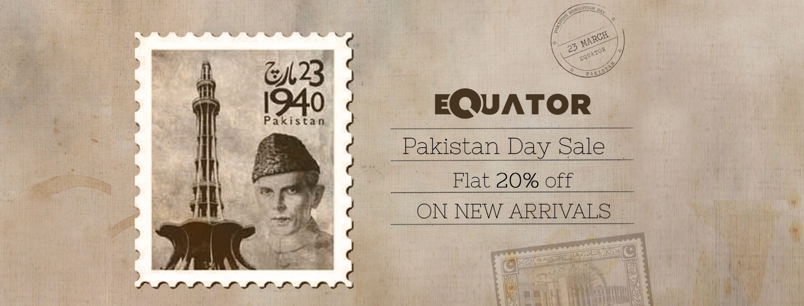Equator - Pakistan Day Sale