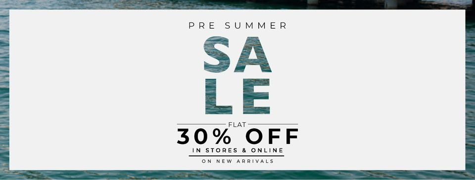Equator - Summer Sale