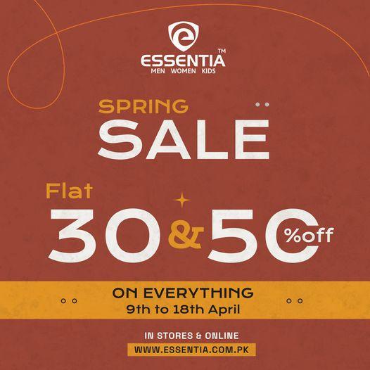 Essentia - Spring Sale