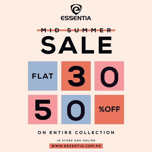 Essentia - Mid Summer Sale