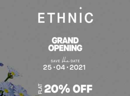 Ethnic By Outfitters - Opening Sale