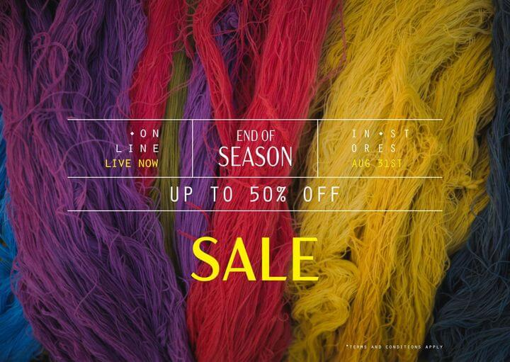 Ethnic By Outfitters - End Of Season Sale