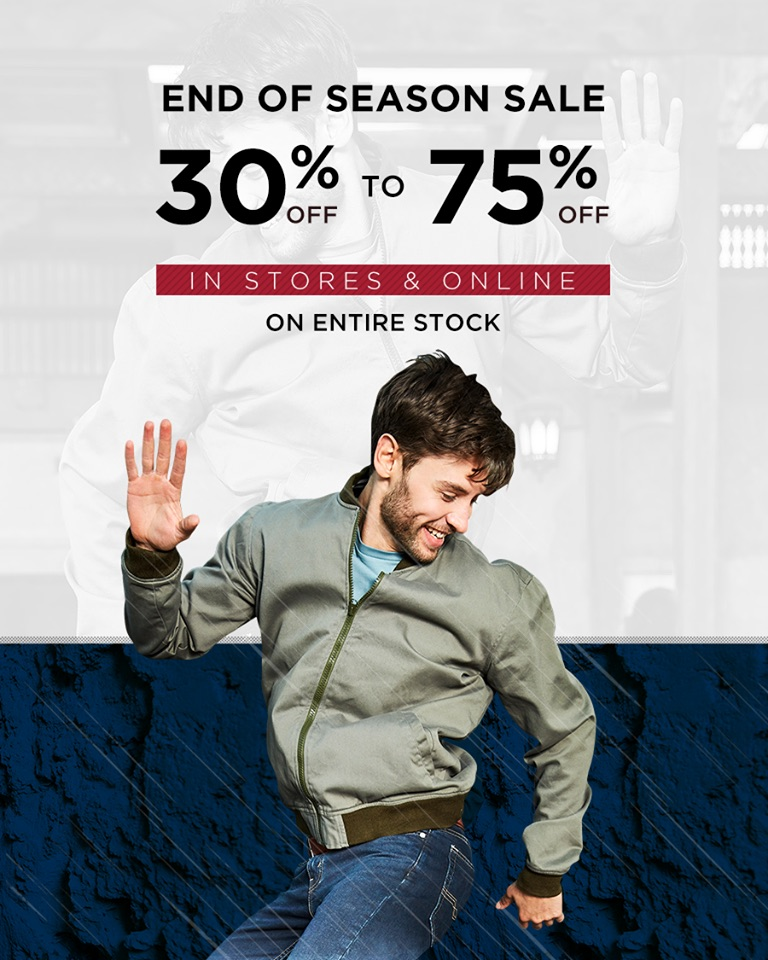 Levi's - Denizen's Winter Clearance Sale