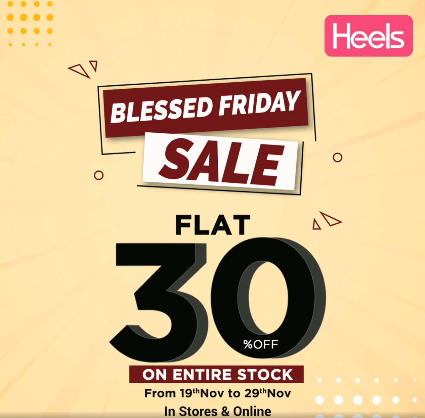 Heels - Blessed Friday Sale