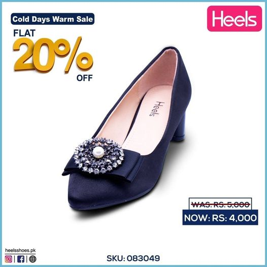 Heels - Cold Days Warm Sale