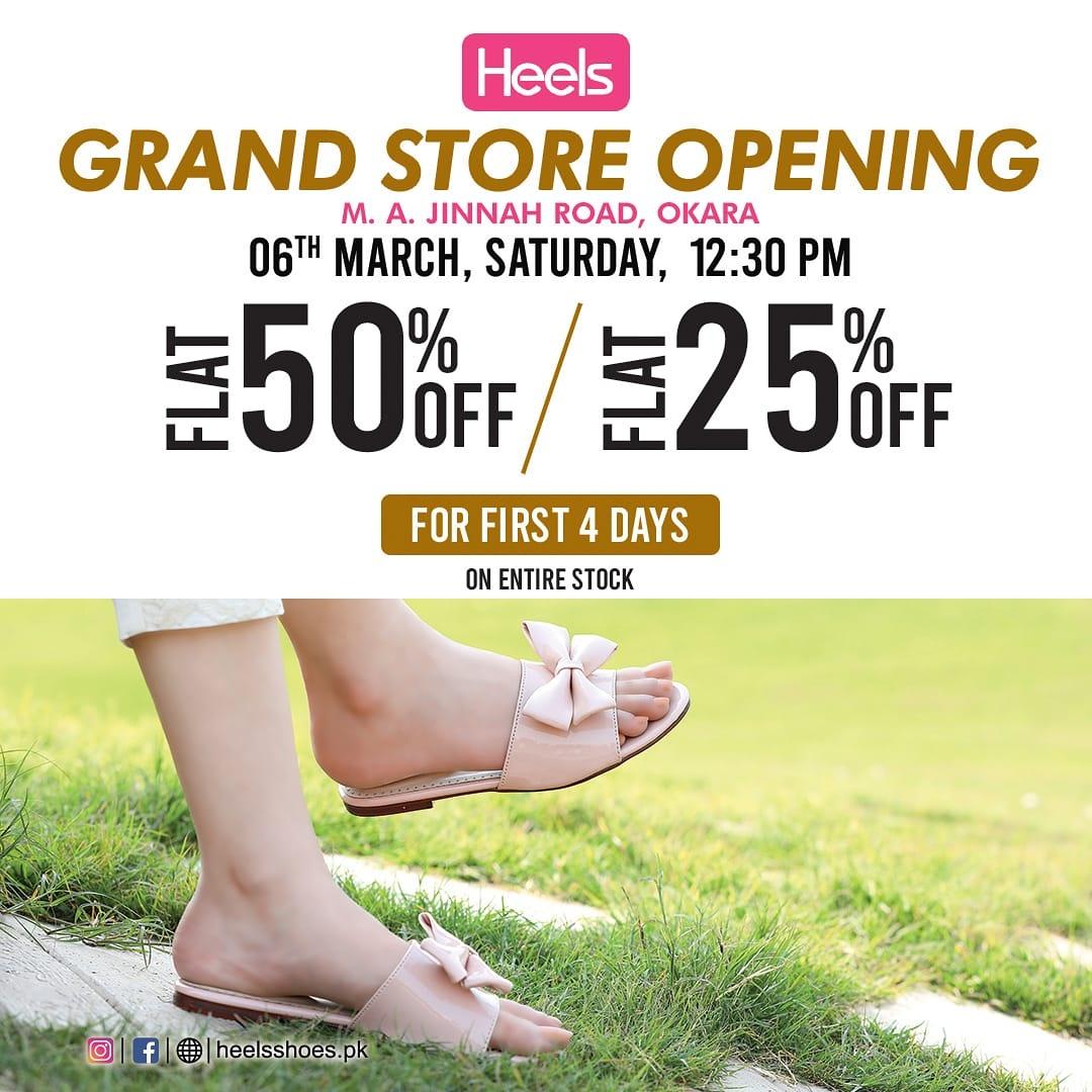 Heels - Opening Sale