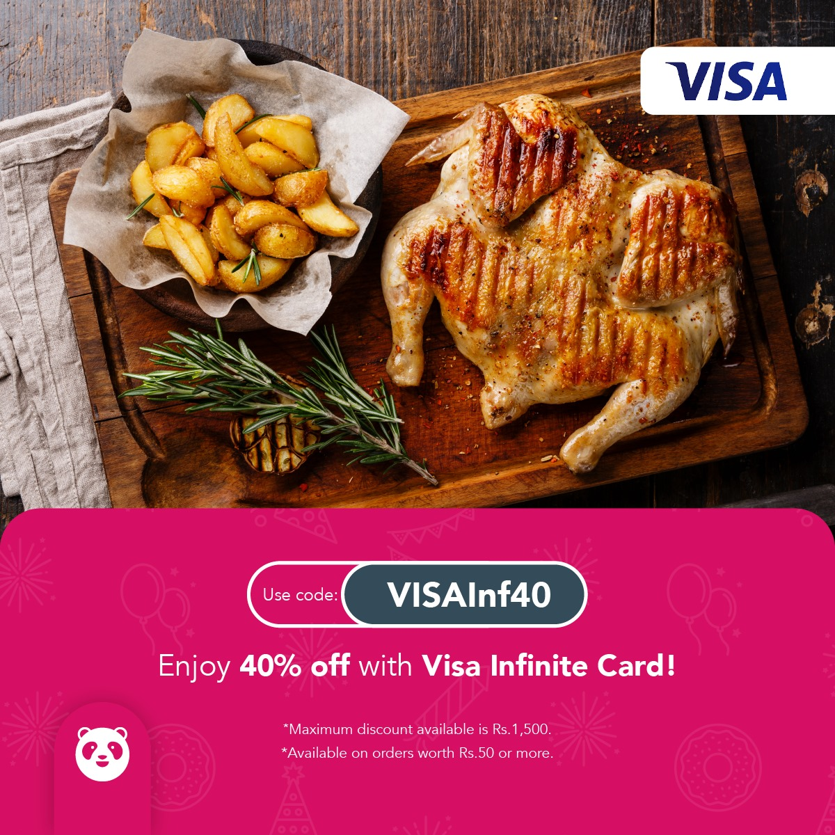 Foodpanda - Visa Infinite