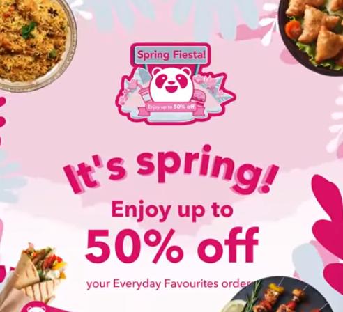 Foodpanda - Spring Deal