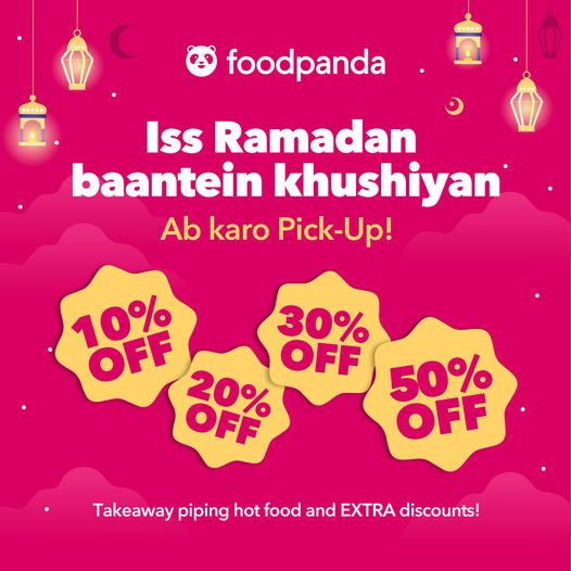Foodpanda - Ramzan Deal