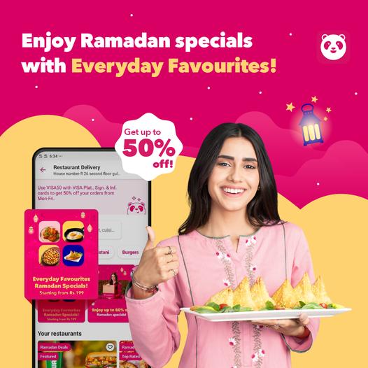 Foodpanda - Ramadan Special Deal