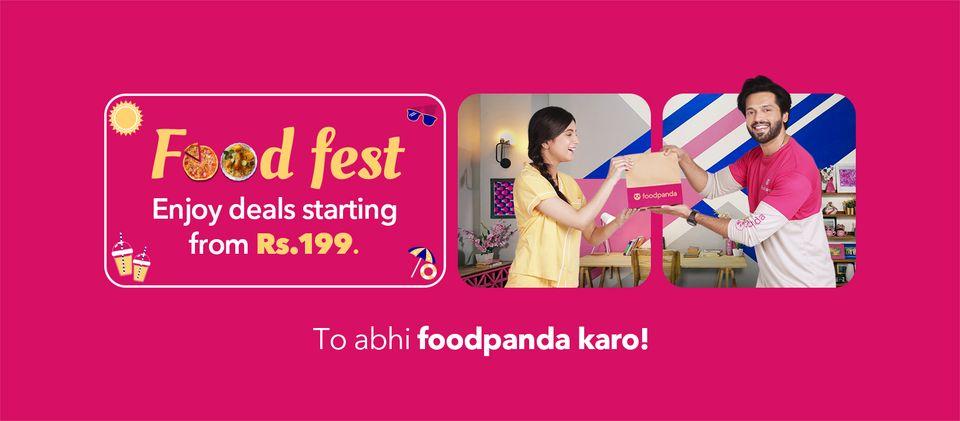 Foodpanda - Food Fest Deal