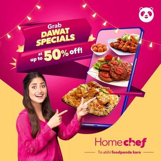 Foodpanda - Dawat Special Deal