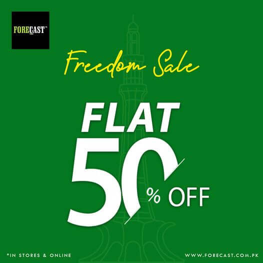 Forecast - Freedom Sale