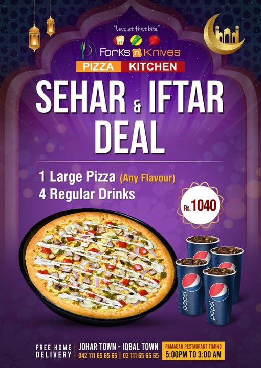Forks N Knives - Iftar Deal